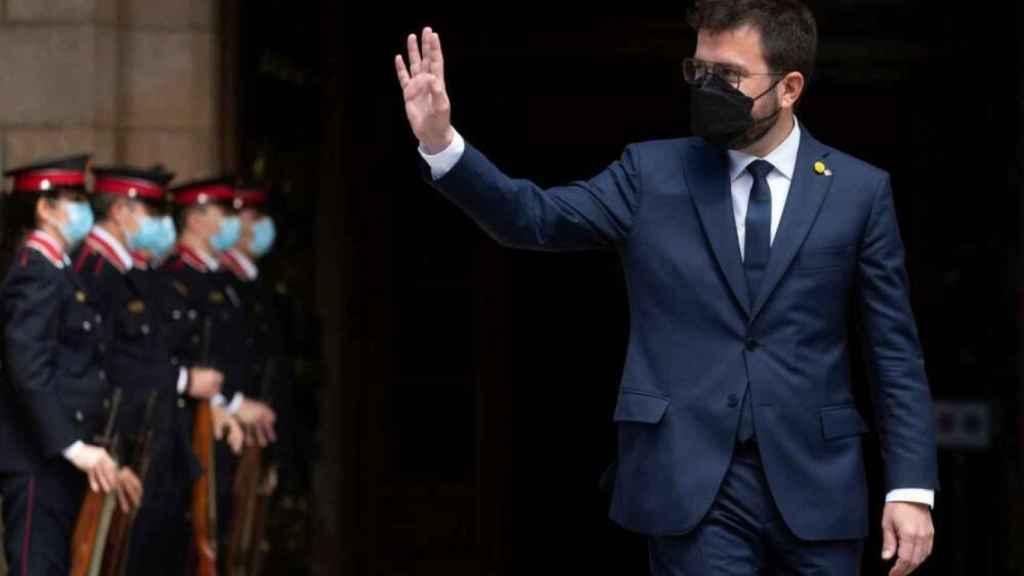 Pere Aragonés, nuevo presidente de la Generalitat.