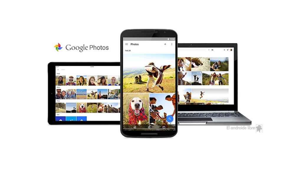 Google Fotos en 2015
