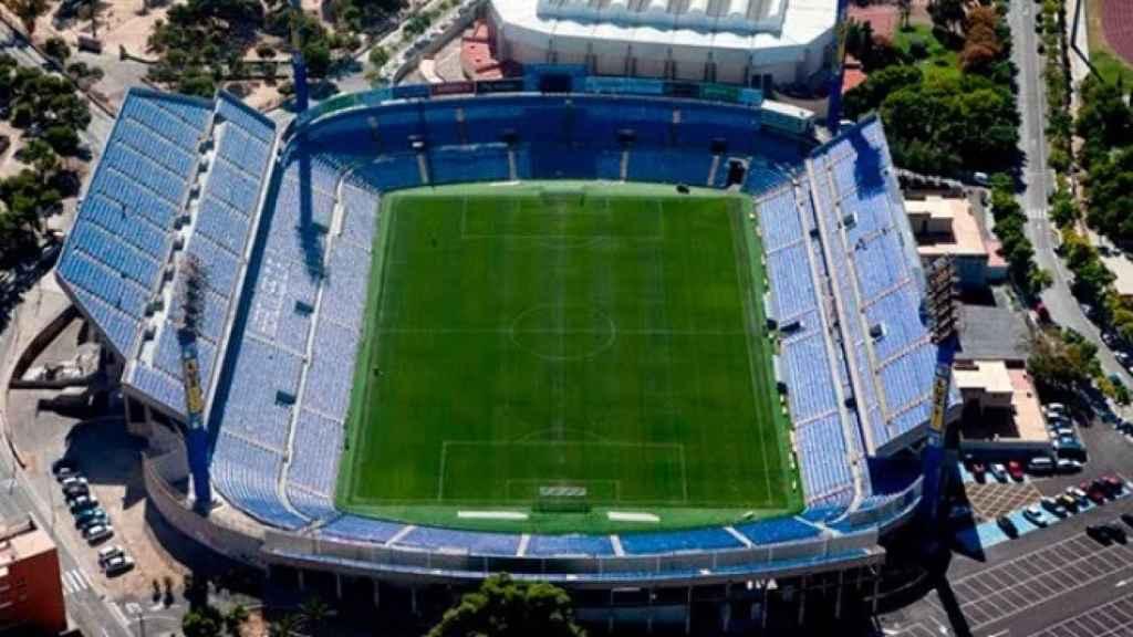 El estadio del Hércules, José Rico Pérez.