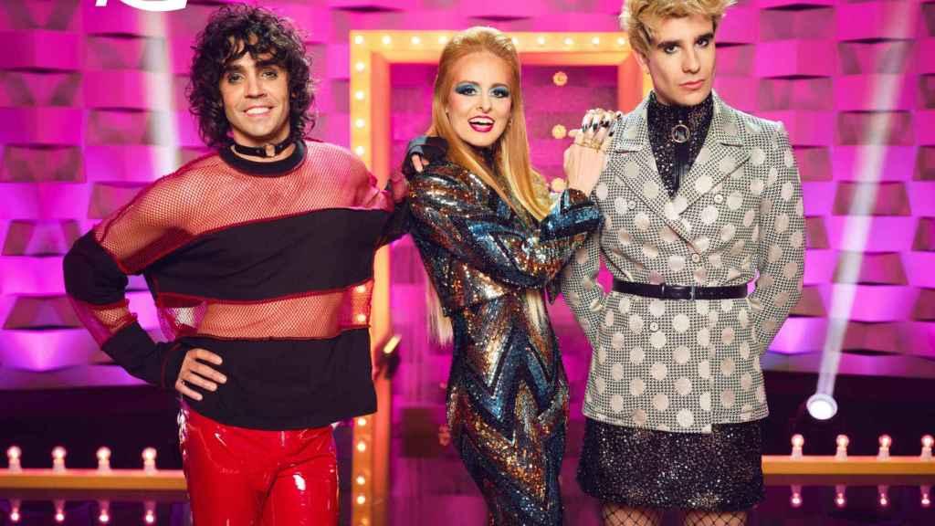 Javier Ambrossi, Ana Locking y Javier Calvo serán jueces en 'Drag Race'.