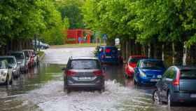 Ricardo Ordou00f1ez ICAL Tormenta en Burgos Inundaciones (2)