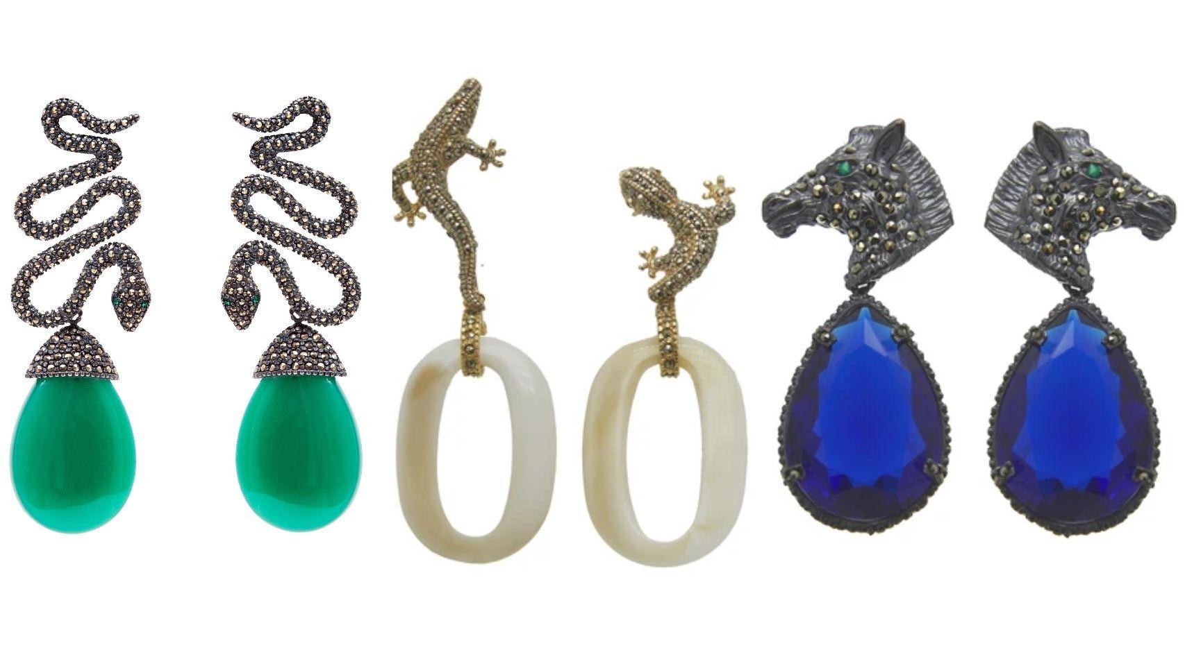 Elefantes, cebras y cocodrilos: el mundo animal toma forma en las joyas de Regina Castillo