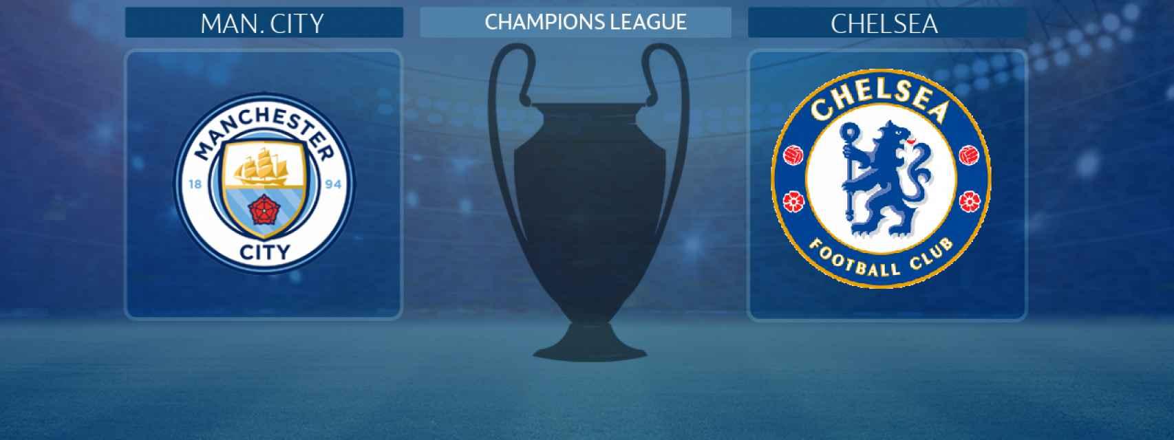 Manchester City - Chelsea, final de la Champions League