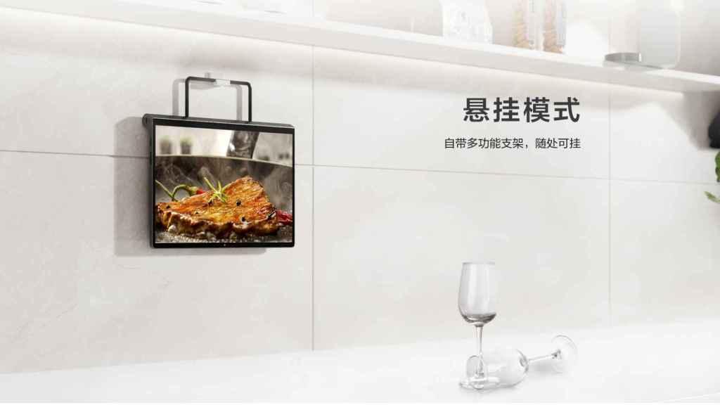 Lenovo Yoga Tab Pro  en la cocina