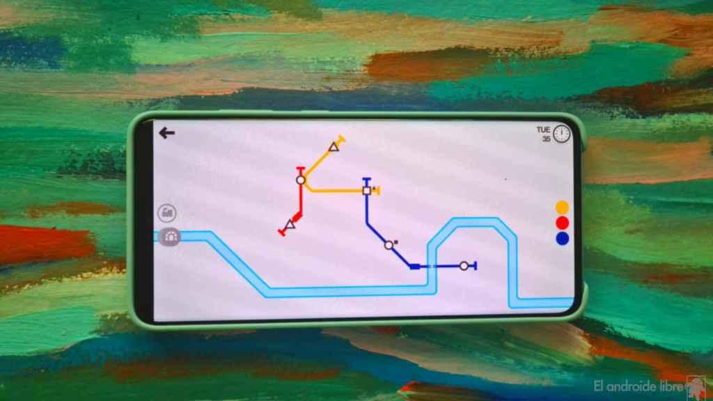 Mini Metro: diseña la red de metro de una ciudad en crecimiento