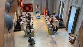 Un instante del pleno del Ayuntamiento de Alcázar de San Juan (Ciudad Real)
