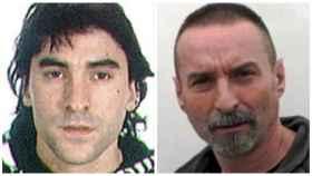 Los etarras Asier Borrero Toribio y Juan Luis Rubanech Roig.