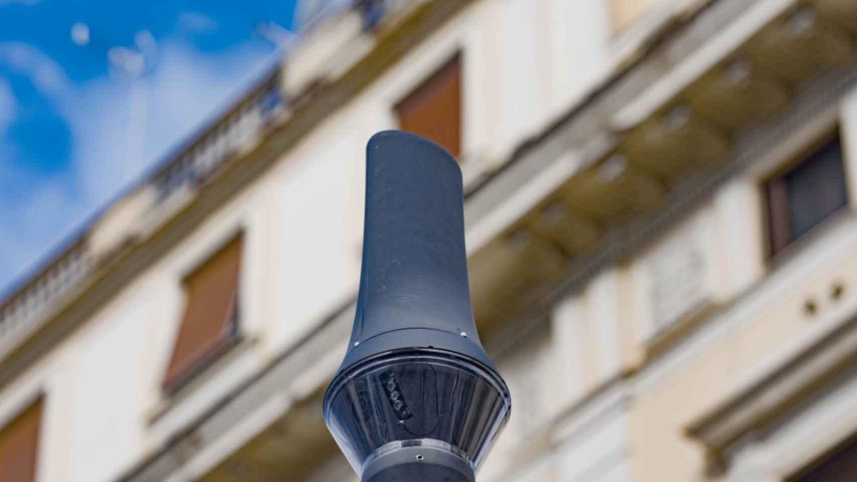 Uno de los sensores de Sony en Roma.