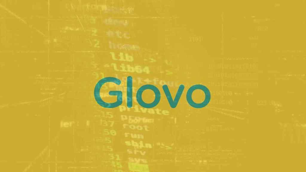 Logo de Glovo.