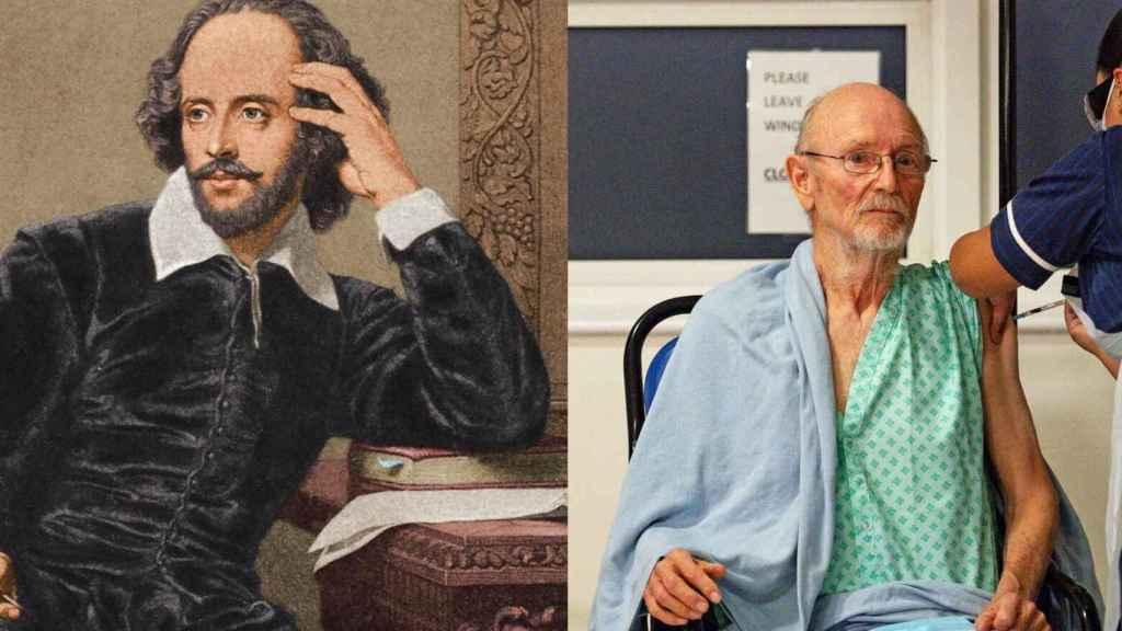 El William Shakespeare escritor y su tocayo, recientemente fallecido.