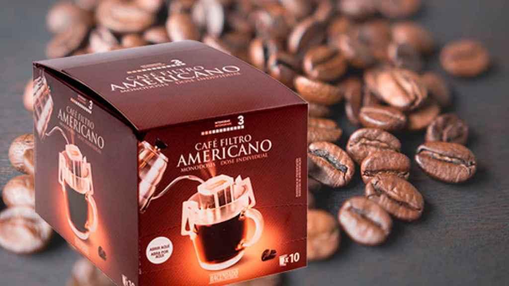 Café filtro americano