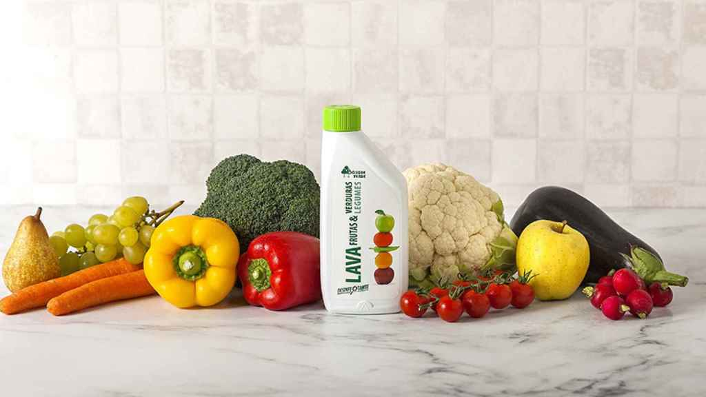 Desinfectante frutas y verduras