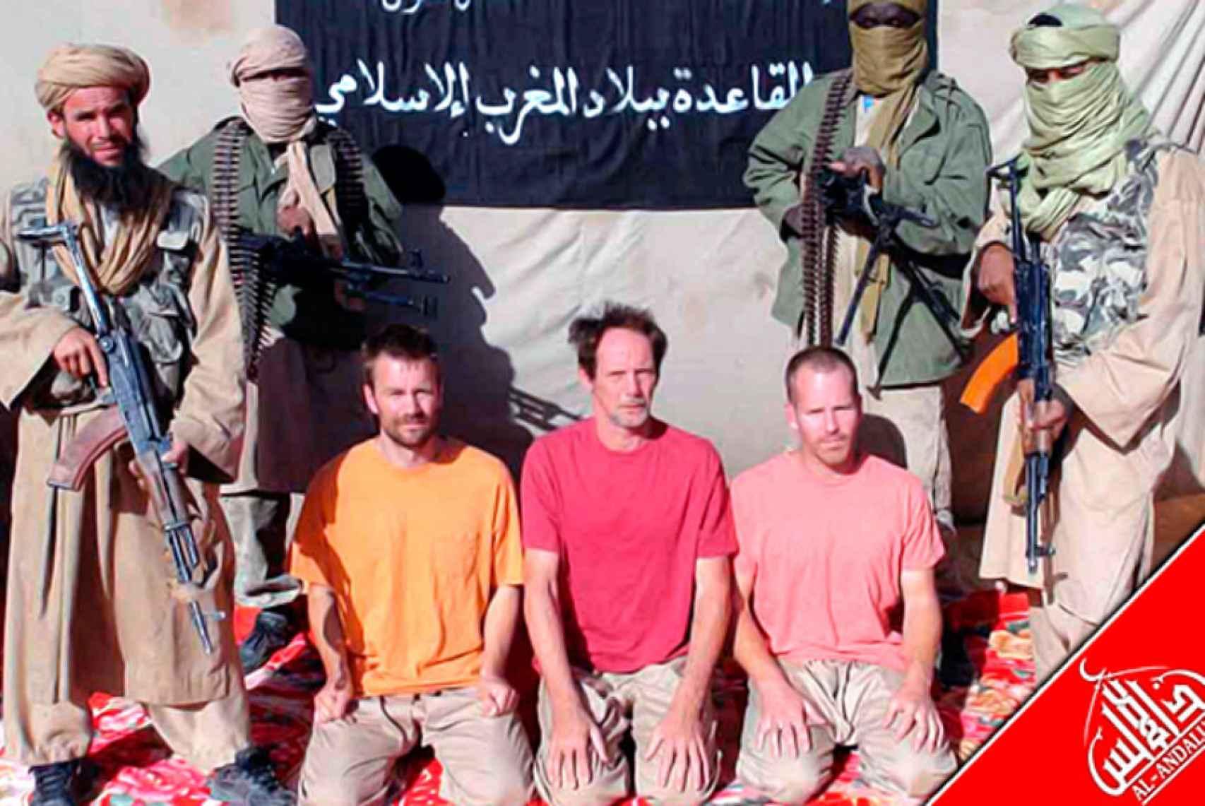 Imagen de archivo del secuestro de tres occidentales en Mali en el año 2011.