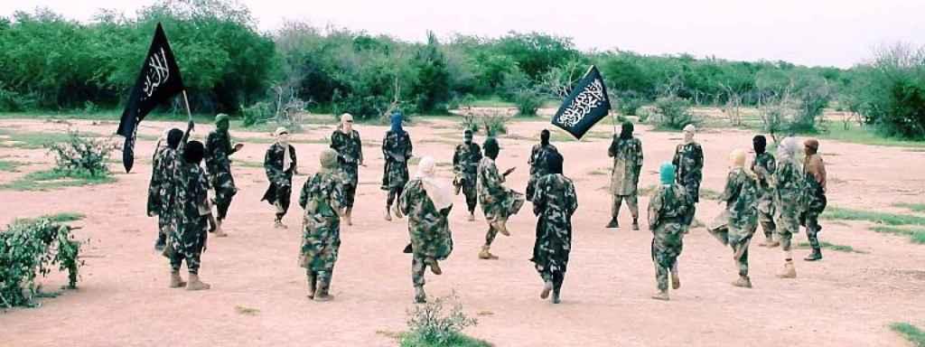 Campo de entrenamiento del JNIM en Mali.