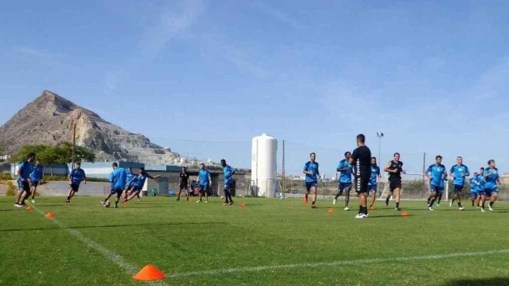 Campo de entrenamiento de Fontcalent, hoy un erial.