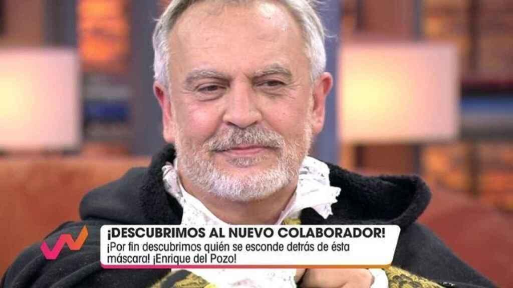 Quién es Enrique del Pozo, el nuevo colaborador de 'Viva la vida'