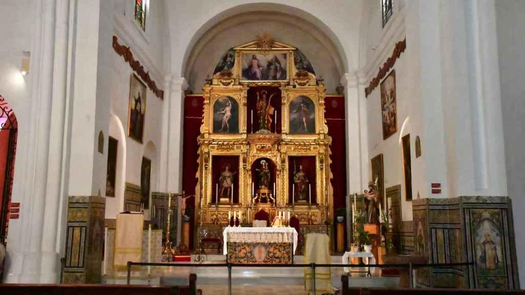 La iglesia de San Román en una imagen de su interior.