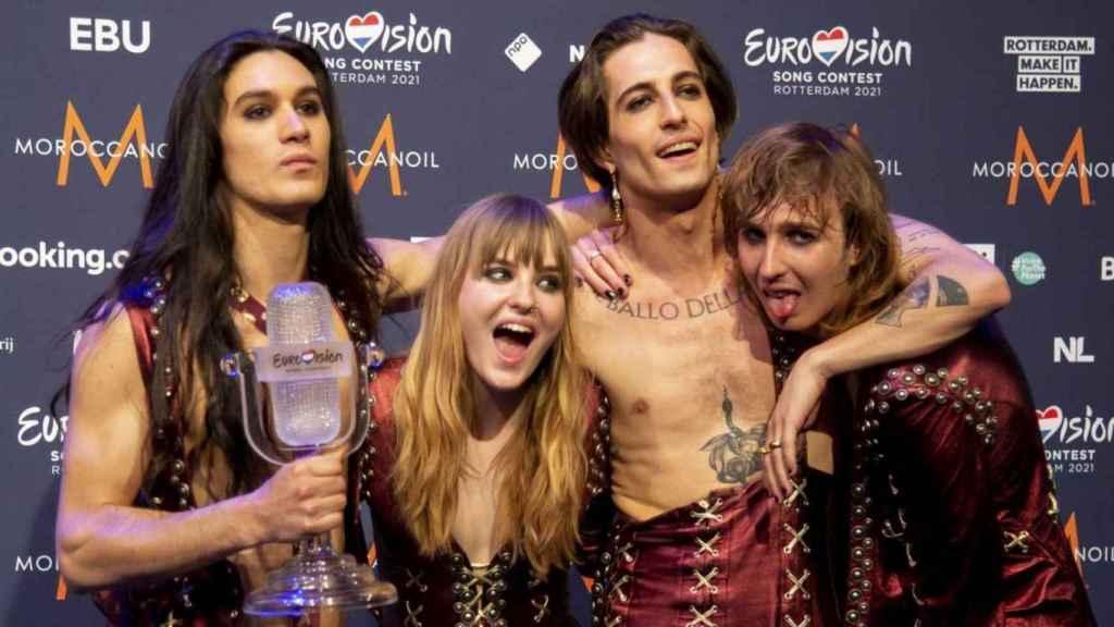Eurovisión no hunde carreras: los brutales datos globales de Måneskin