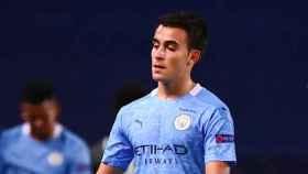 Eric García, con el Manchester City