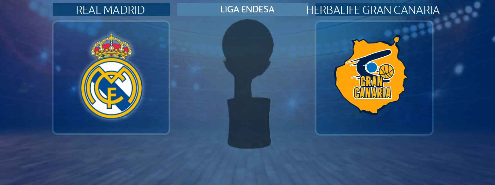 Real Madrid - Herbalife Gran Canaria, partido de la Liga Endesa