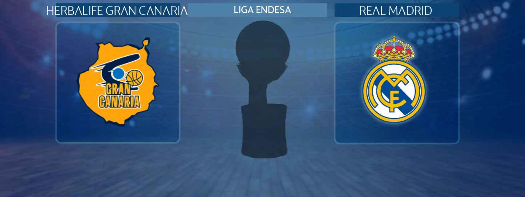 Herbalife Gran Canaria - Real Madrid, partido de la Liga Endesa