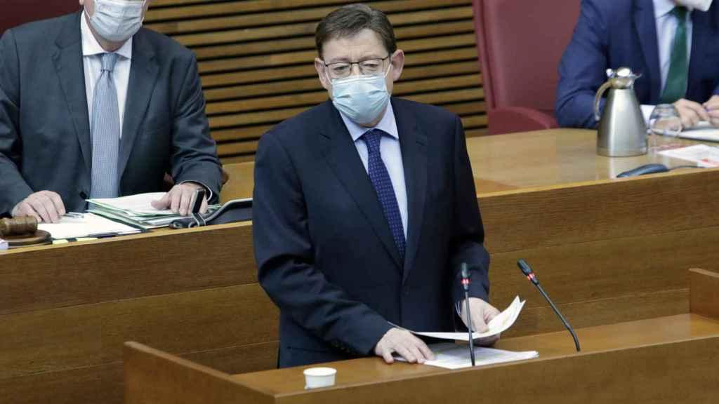 El presidente Puig insiste en las medidas de control para mantener los buenos datos sanitarios.