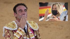 Enrique Ponce y Ana Soria en montaje de JALEOS.
