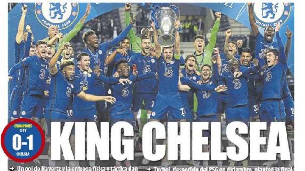 La portada del diario Mundo Deportivo (30/05/2021)