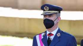 El Rey Felipe durante el acto central del Día de las Fuerzas Armadas 2021, este sábado en Madrid (Foto: EP)