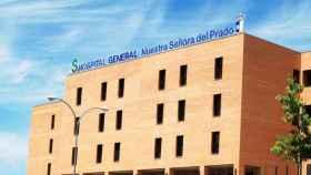 Hospital de Talavera al que ha sido trasladado el joven herido