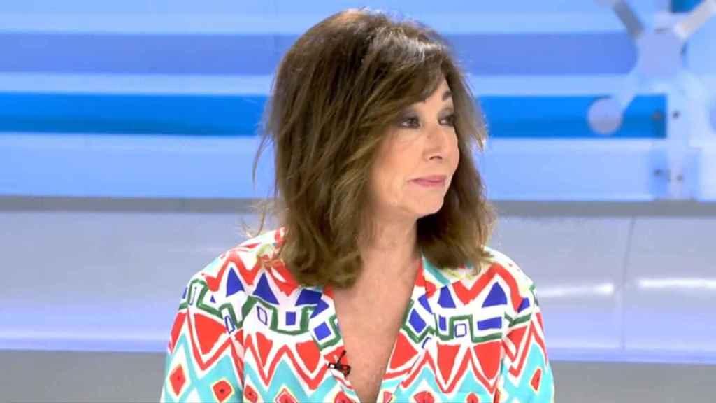 """Ana Rosa desmiente su marcha a Antena 3 y defiende """"la libertad que tiene en Mediaset"""""""