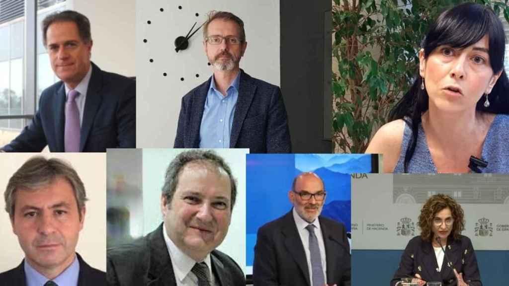 J. M. Orihuela, Marc Murtra, Belén Gualda, Jaime Argüelles, Jordi Hereu, F. Abril-Martorell y M. J. Montero.