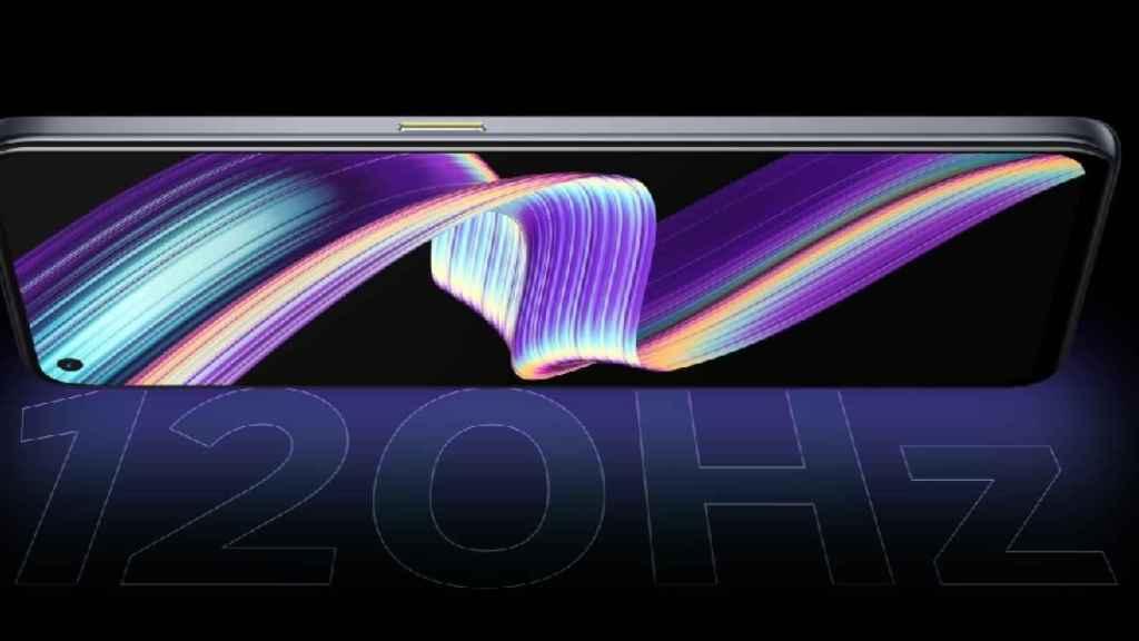 realme X7 Max 5G pantalla