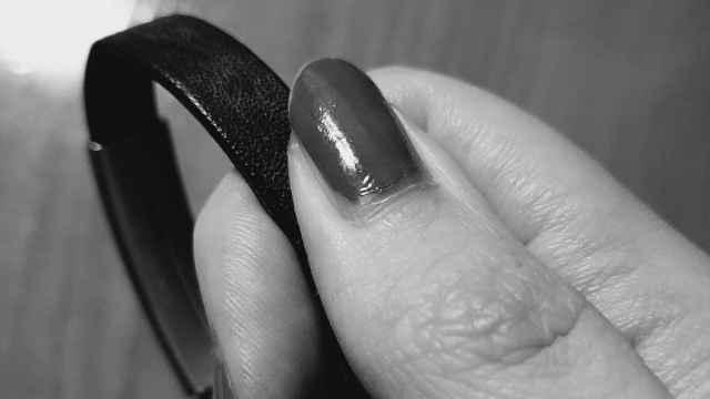 La pulsera que Nea conserva de su madre.
