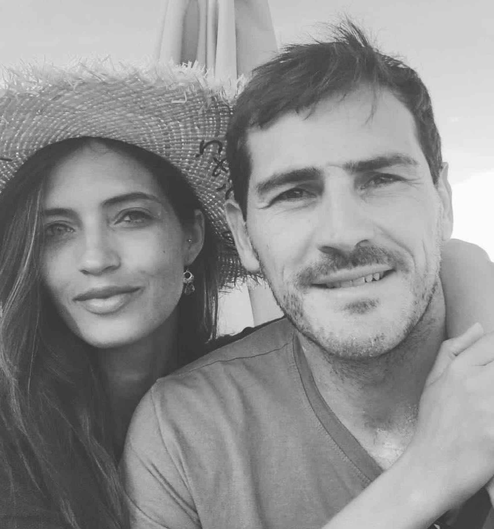 La foto con la que Sara e Iker anunciaron su divorcio.