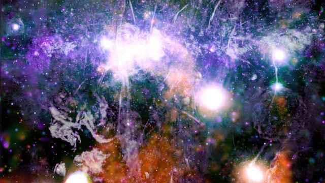Imagen del centro de la Vía Láctea.