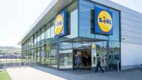 Supermercado Lidl.