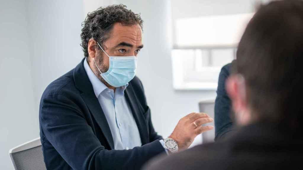 Nacho Esteban, fundador y CEO de 24Genetics
