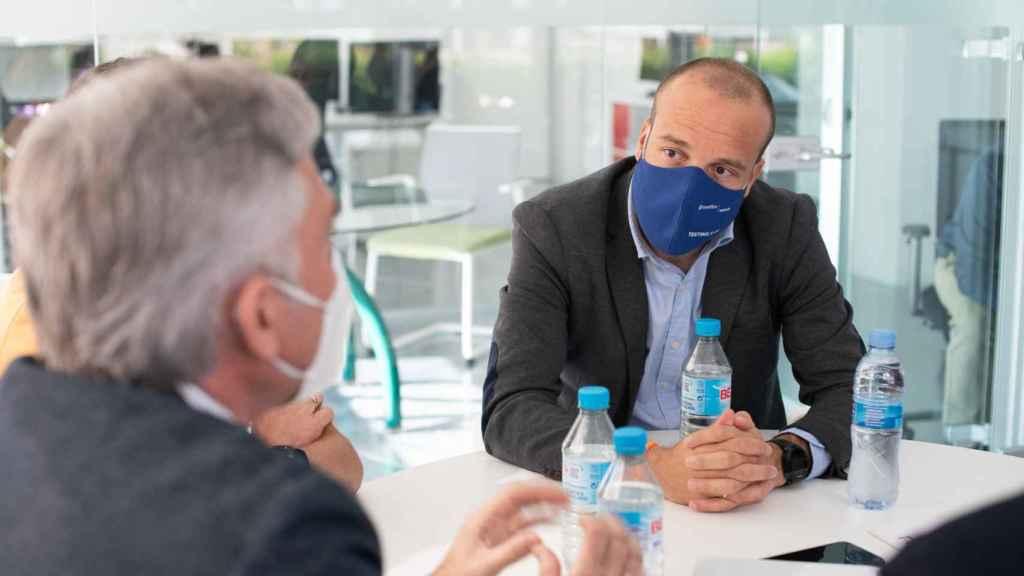Javier Salazar, Director Científico Comercial de Eurofins Megalab España