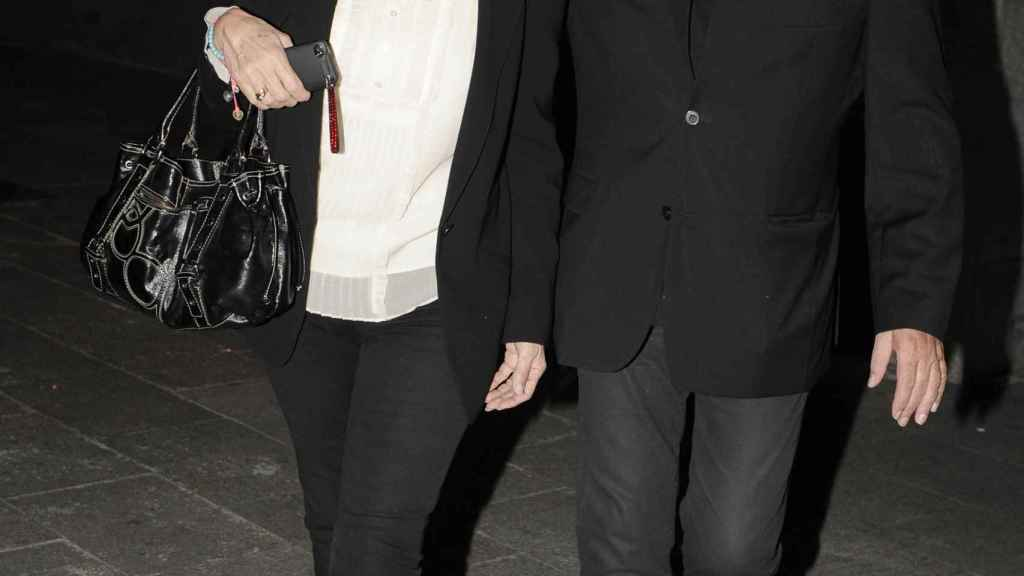 Rosa y Amador, en el año 2012.