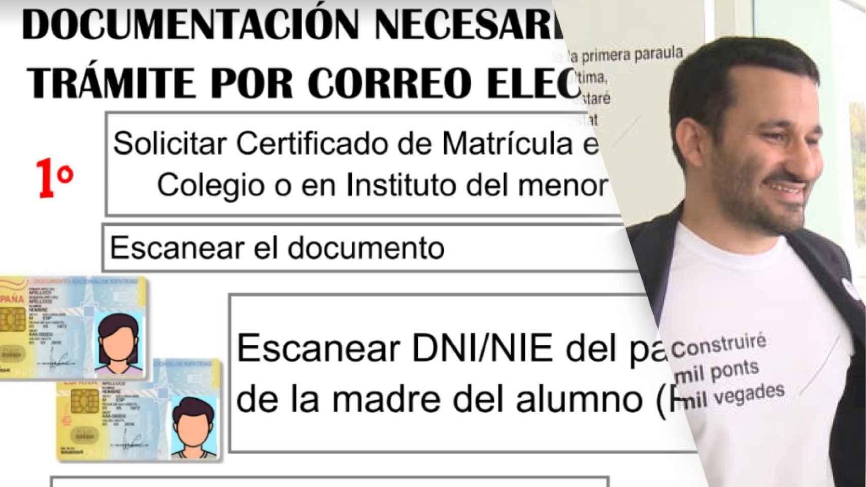 Instrucciones para la realización de recursos. El conseller de Educación Vicent Marzà.