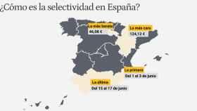 Aunque mañana se inicie la prueba en Murcia, los andaluces esperarán 15 días para examinarse.