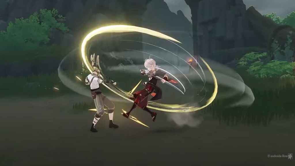 This is how Genshin Impact's new hero brings them