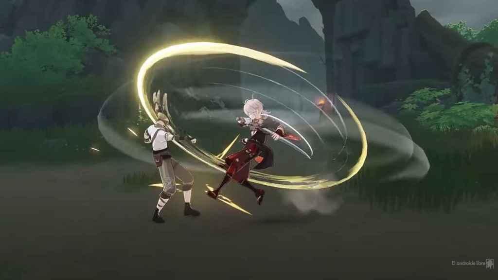 Así se las trae el nuevo héroe de Genshin Impact