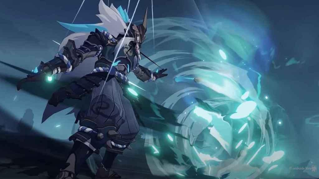 El samurái humanoide