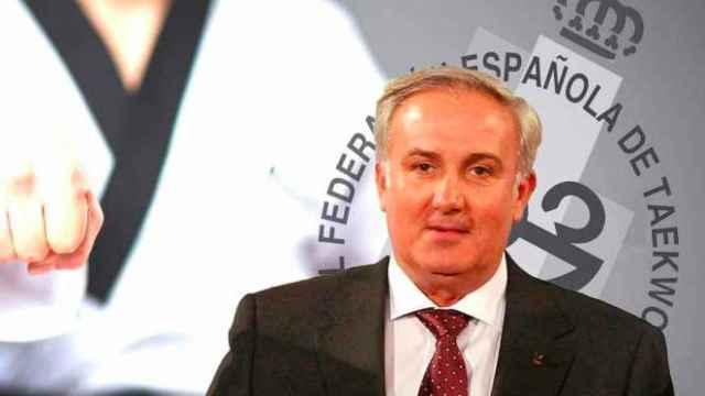 Jesús Castellanos Pueblas, presidente de la Real Federación Española de Taekwondo