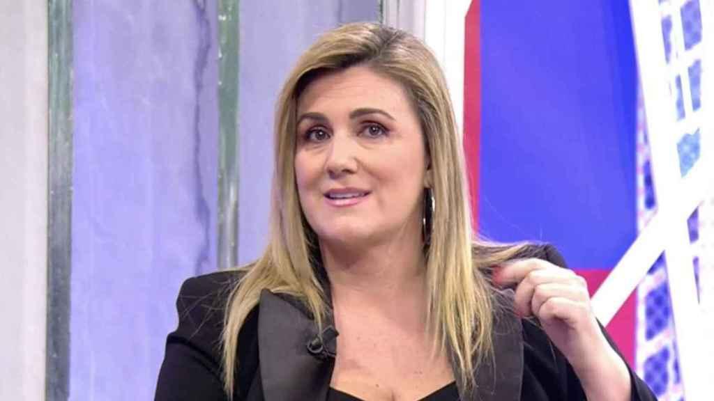 Carlota Corredera criticó en 'Deluxe' las palabras de Matamoros.