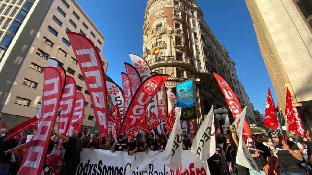 Una manifestación.