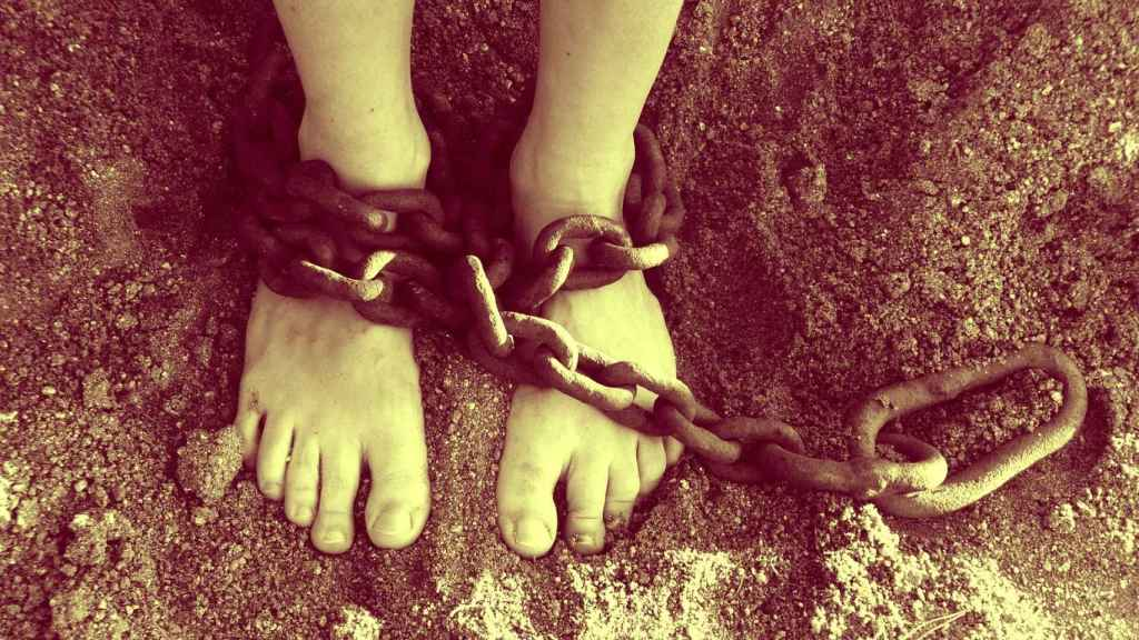 Imagen representativa de esclavitud.