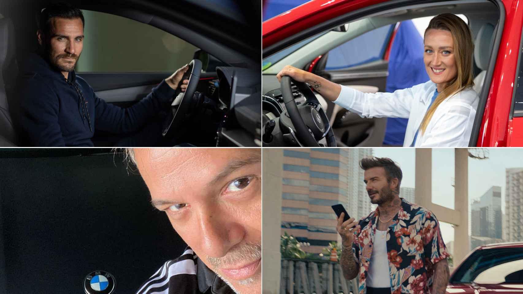 Alejandro Sanz, Rafa Nadal, Mireia, Craviotto: famosos (y abanderados) que han 'cambiado' de coche
